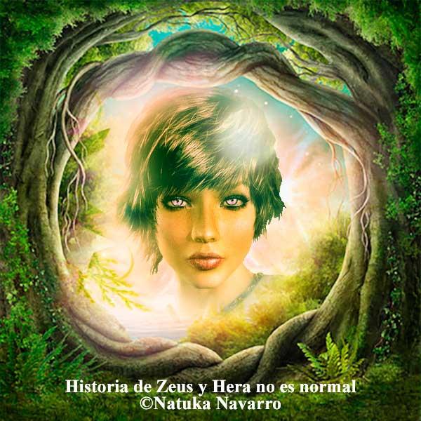 Historia de Zeus y Hera no es normal