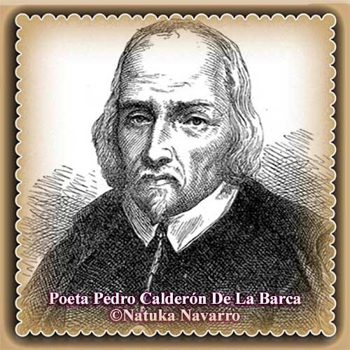 Poeta Pedro Calderón De La Barca