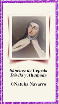Teresa De Cepeda Y Ahumada