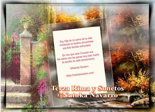 Terza Rima y Sonetos