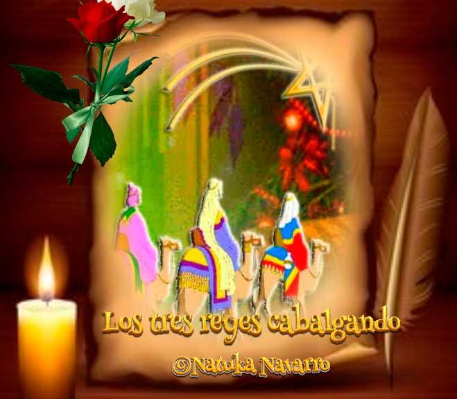 Los Tres Reyes Cabalgando