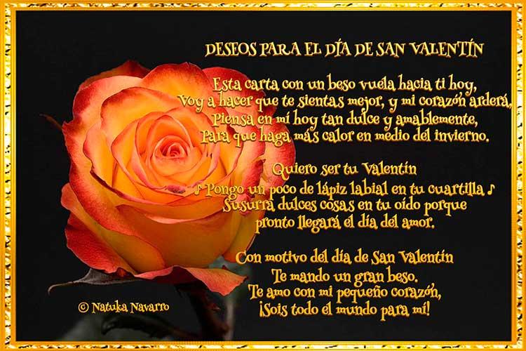 DESEOS PARA EL DÍA DE SAN VALENTÍN
